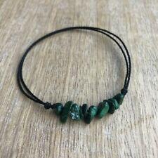 Anklet Bracelet Green Bead