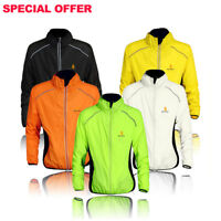 Men's Cycling Jackets Wind Coats MTB Bike Long Sleeve & Sleeveless Jersey Shirts