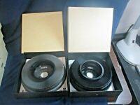 Lot of 2 Vintage Kodak Carousel Transvue 80 Slide Trays in Orig. Boxes