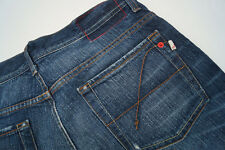 Guess Sunset Messieurs Men Jeans Pantalon 31/34 w31 l34 stone wash bleu used L Fissures #n