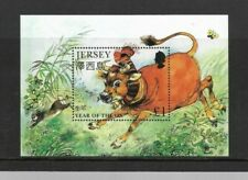 Jersey - Year of the Ox - MS - MNH - 1997