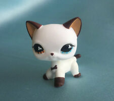 Littlest Pet Shop Custom OOAK LPS Short Hair Cat White Hand Painted Figure