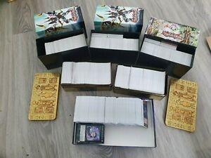 Yu-Gi-Oh Karten Sammlung ca. 3500 Karten ca. 1000 Holos englisch