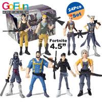 """24 Stk Fortnite Figuren Spielzeug Charakter 4.5"""" Kinder Dekor Toy Geschenk"""