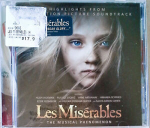 LES MISERABLES - HIGHLIGHTS FROM THE SOUNDTRACK - REPUBLIC - SEALED CD