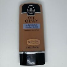 Oil of Olay 86 Deep Beige All Day Moisture Liquid Foundation Normal To Dry Skin