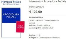 Procedura Penale 2020 Memento Pratico Lefebvre