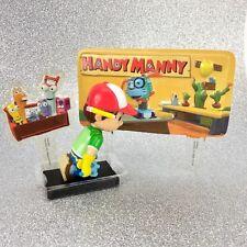 Vtg NOS Disney HANDY MANNY Decopac Birthday Cake Topper Decoration Kit Toy Figur