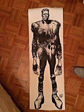 "36"" TALL Vintage Jack Davis Frankenstein poster for easy framing"
