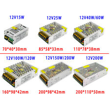 AC 220V 240V TO DC 5V 12V 24V Switch Power Supply Driver Adapter LED Strip Light