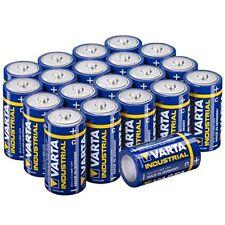 Varta LR14 Type C Baby Alkaline Batteries Pack of 20