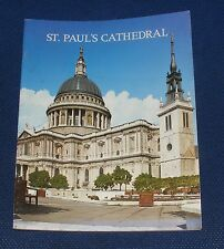 GUIDEBOOK - ST PAULS CATHEDRAL LONDON 26 PAGES 1976 PITKINS PICTORIAL LIMITED