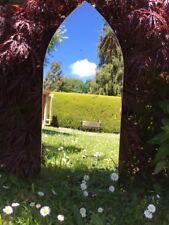 Acrylic Gothic Shape Garden/Indoor Mirror Plain Sheet - Pack of 2