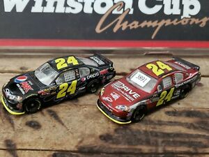 JEFF GORDON #24 2011 1/64 SCALE Pre Production Sample Prototype lot of two