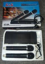 K&K AT-306 Funk Mikrofonset und Receiver Karaoke