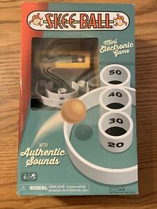 SKEE-BALL Mini Electronic Arcade Game with Authentic Sounds!!!