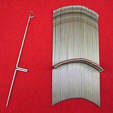 Neu 50 Nadeln für Brother Strickmaschinen KR587 - KR850 KnittingMachine Needles