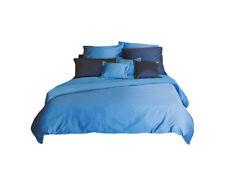 Bassetti Bettbezug UNI V.1343 blau  155x220 cm mit RV