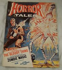 HORROR TALES MAY 1971 VOL 3  #  3  EERIE  HORROR COMIC MAGAZINE