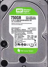 Western Digital WD7500AARX-00N0YB0 dcm: HBNNHT2MBB 750GB SATA A12-14