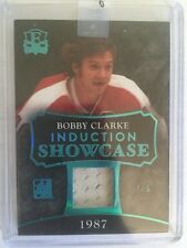 2016 Enshrined Bobby Clarke Jersey 1/5 Induction Showcase 1987 1/1 In The Game