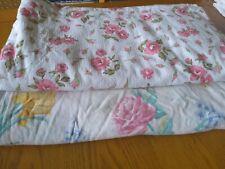 Vintage Double Flannelette sheets x 2. Good condition
