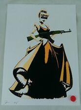Cinderella AK. white G Original, NYC. Ltd/100. sign/num with COA.   dismaland