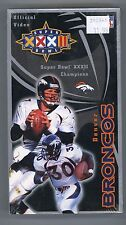 Denver Broncos Super Bowl XXXII Official Video Movie-Brand New in Sealed Pkging