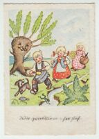 [66283] 1941 GERMAN ILLUSTRATED BIRTHDAY CARD with Scott Germany #B151