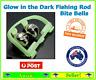 Fishing Rod Glow in the Dark Bite Nibble Bells Bell Tackle Bite Alarm Alarms