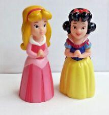 "Disney SNOW WHITE & AURORA Sleeping Beauty bundle of 2 PVC Figures Figurines 5"""