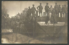 GERMANY. WW1. 1917. POSTCARD. MUTE FELDPOST CANCEL AND 12th CACHET. PICTURE SIDE