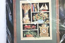 Dimensions Counted Cross Stitch Kit Memorabilia Shadowbox Car Clock Boat Floral
