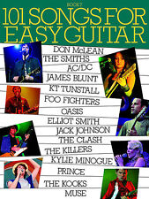 101 Songs For Easy Guitar Learn to Play Foo Fighters James Blunt Music Book 7