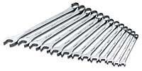 SK Tools 86127 13 Piece 6 Point Metric Long Pattern Combination Wrench Set