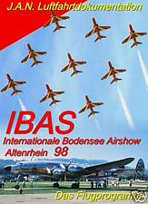DVD IBAS Internationale Bodensee Airshow Altenrhein 98