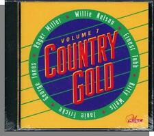 Country Gold Vol.  7 - New 10 Song Various Country Artists CD! w/ Kitty Wells!