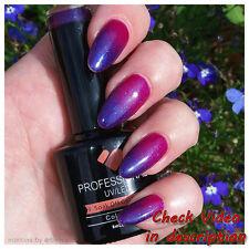 CH096 VB™ Line Color Changing Orange Metallic - 8ml nail gel polish vbline-net