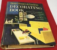 Interio  Design Decorating 1961 Better Homes Gardens MidCentury ReTro Vtg book