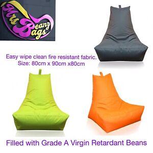 Large Adult Gaming Bean Bag Beanbag, waterproof indoor /Outdoor Use Ready Filled