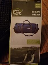 """Lewis N Clark Uncharted Extra Small 24"""" Duffle Bag Black 93200"""