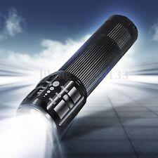 5000Lm Torcia T6 LED 3 modalità Rechargeable Flashlight Troch 2×18650/3xaaa