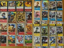 Digimon Card Game 2020 Starter ST 1-3 Complete Set Red Blue Yellow Wargreymon