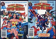 Secret Origins Villains, Heroes PAIR UNREAD DC Digest Books Wonder Woman Origin!