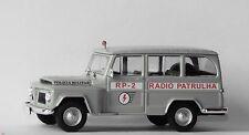 DeAgostini 1:43 Police car of Brazil Willys Rural