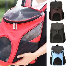 Washable Dog Mesh Bag Pet Travel Bag Space Capsule Pet Carrier Backpack Outdoor