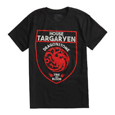 Game Of Thrones TARGARYEN SHIELD DRAGON T-Shirt NWT Licensed