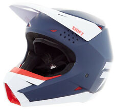 Casque Moto Cross Shift whit3 Helmet, Bleu Taille S, Enduro Cross Scooter Quad
