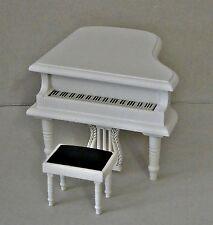 Klavier mit Hocker  ,Piano 1:12 - Puppenmöbel , Puppenstuben
