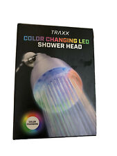 Traxx Color Changing Led Shower Head Powered by Running Water Nib Sealed TikTok